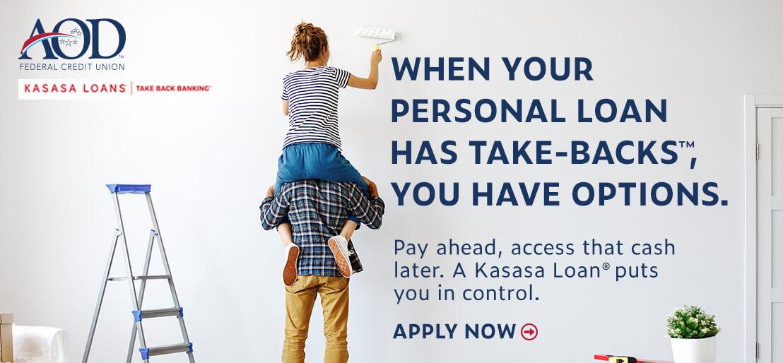 AOD Kasasa Take-Back Loans